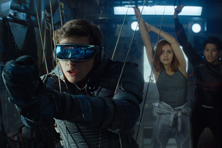 who plays h in ready player one